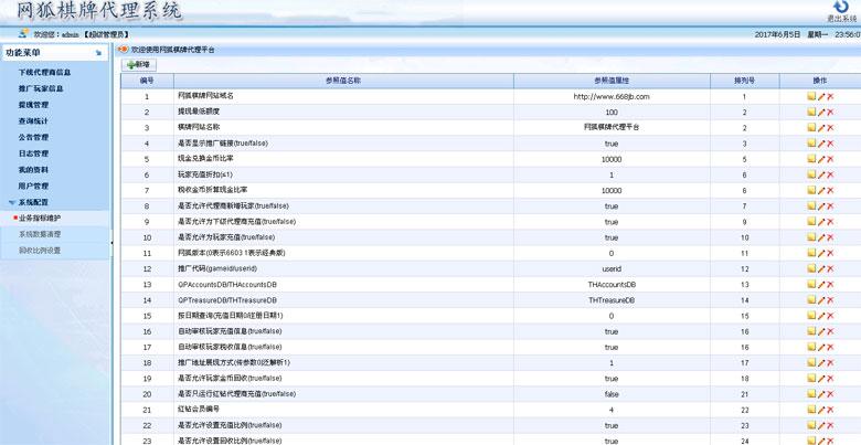 网狐6603+6710经典版+神仙棋牌 通用五级代理系统(银商系统)-第8张