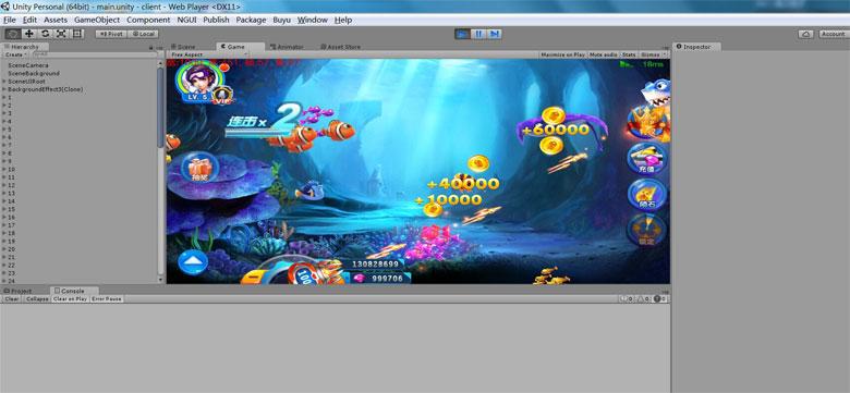 U3D手机版网络捕鱼全套包含服务端客户端源代码 后台完整插图(3)