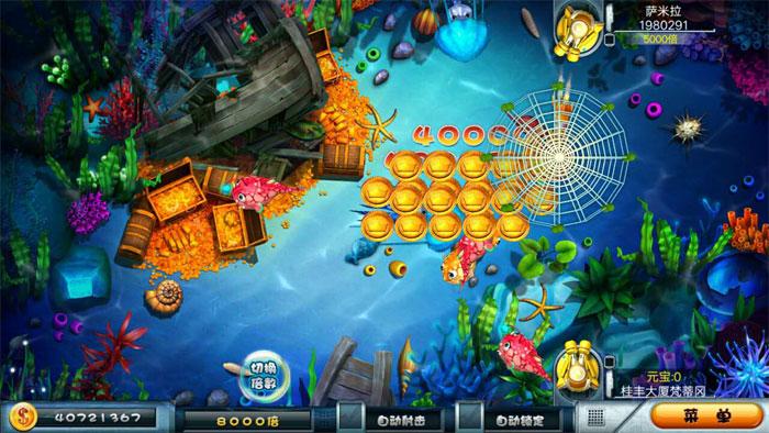 网狐经典版三网通源码 稳定运营大玩家电玩街机捕鱼游戏开发搭建插图(8)