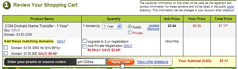 """亲手教你把域名注册商转移到国外 我的域名注册商由""""新网""""转移到美国Godaddy的全过程[原创]-第11张"""
