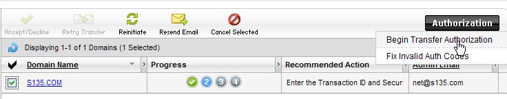 """亲手教你把域名注册商转移到国外 我的域名注册商由""""新网""""转移到美国Godaddy的全过程[原创]-第17张"""