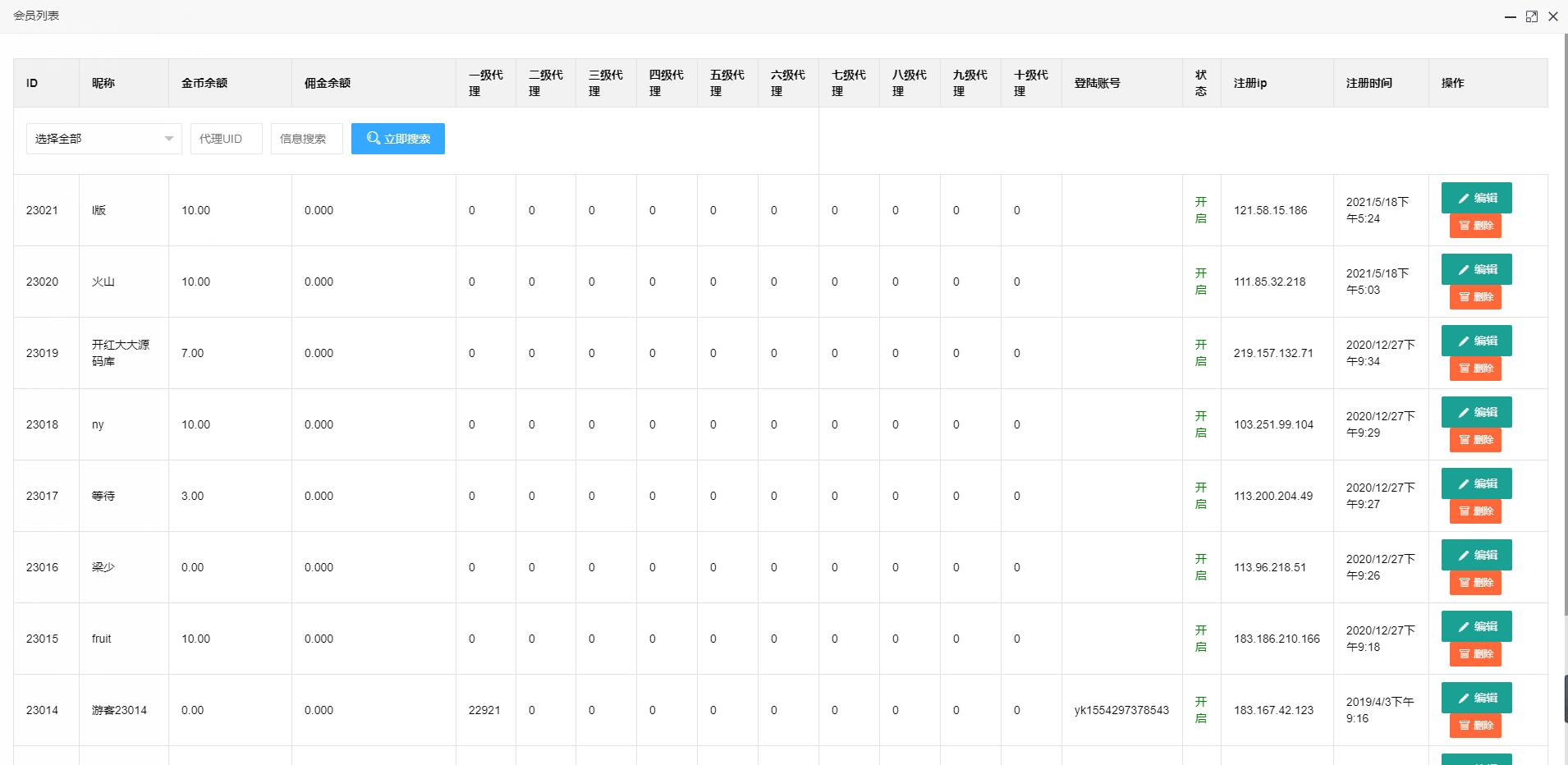 【亲测】H5飞禽走兽无授权版 完美运营+完整数据+详细教程 完整数据 完美运营 无授权版 飞禽走兽 H5 H5棋牌源码 第8张