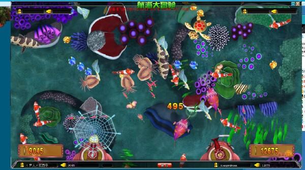 移动街机电玩城渔乐无穷网狐6603深海游戏应用开发游戏源码跨平台三通版