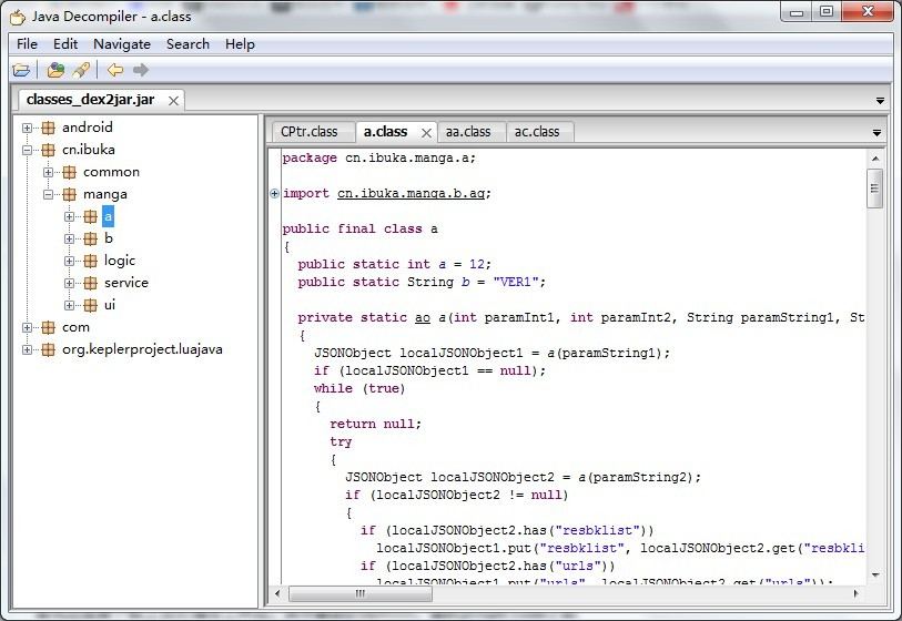 Android APK反编译就这么简单 详解(附图)-第6张